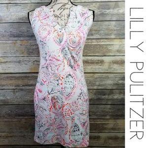 LILLY PULITZER Shell Estrada Knit Shift Dress XS